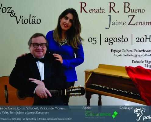 Renata + Jaime cartaz oficial em baixa