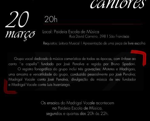 Cartaz_Madrigal Vocale